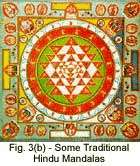 Fig. 3(b) - Some Traditional Hindu Mandalas