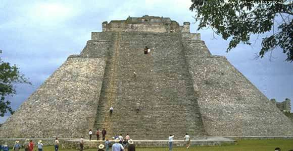 Uxma Mayan pyramid